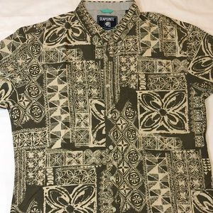 New Seapointe Short Sleeve Button front shirt